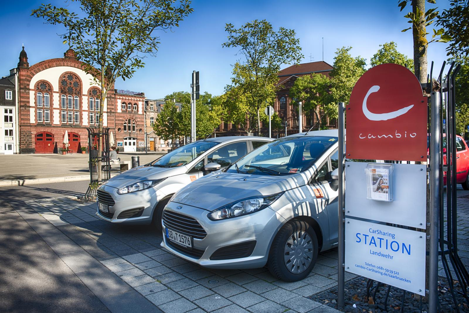 CarSharing-Station (Foto: cambio)
