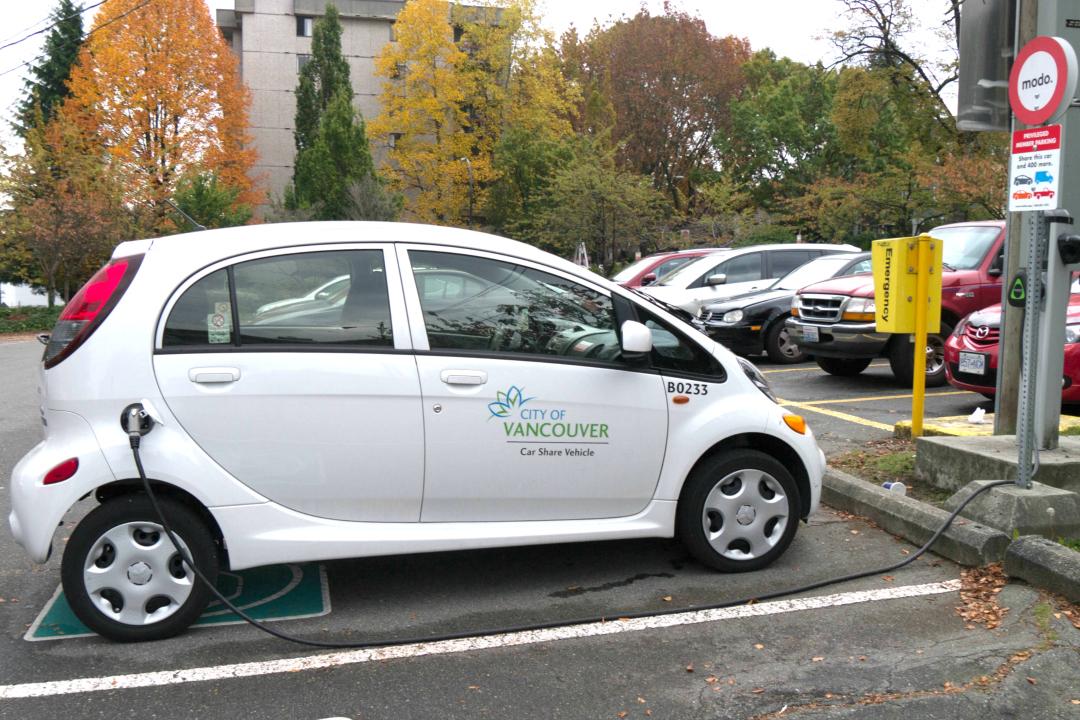 CarSharing-Fahrzeug für Angestellte der Stadt Vancouver